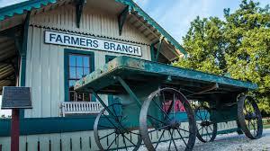 farmers branch train