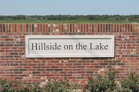 hillside on the lake
